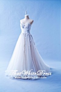 212W11 Princess Cinderella Wedding Dress Designer Malaysia