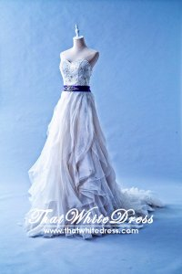 212W09 Princess Vera Wedding Dress Designer Malaysia