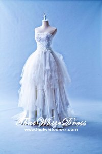 401W010 Vera Wang inspired Eliza Wedding Dress Designer Malaysia