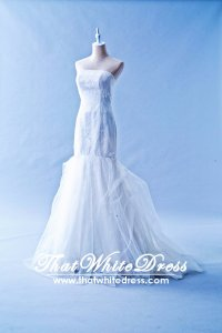 412W22 LL Oscar de La Renta Wedding Dress Designer Malaysia