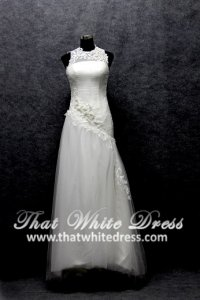 silver-wedding-gown-1401w15-a-line-sheer-illusioned-neckline-sheer-back