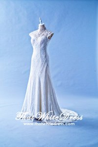 305W004 Oriental A Busts Wedding Dress Designer Malaysia