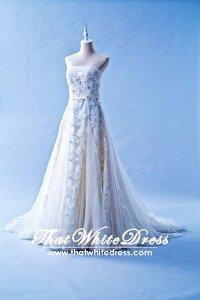 212W06 Princess Diana Wedding Dress Designer Malaysia