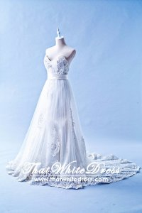 212W08 Princess Mermaid Lace Wedding Dress Designer Malaysia