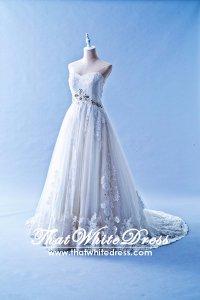 405WL04CS CS Princess Enzoani Plus Size Wedding Dress Designer Malaysia